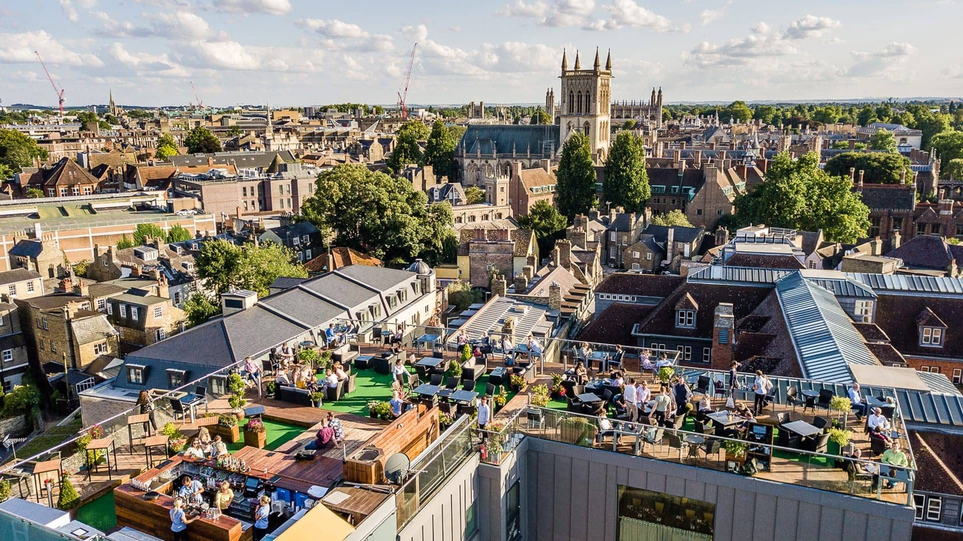 The Iconic Roof Terrace in Cambridge